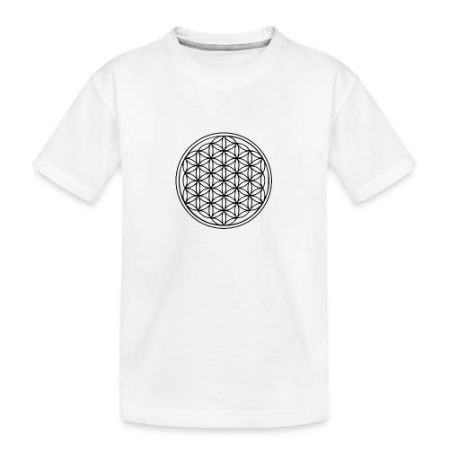Fleur de Vie - T-shirt bio Premium Ado