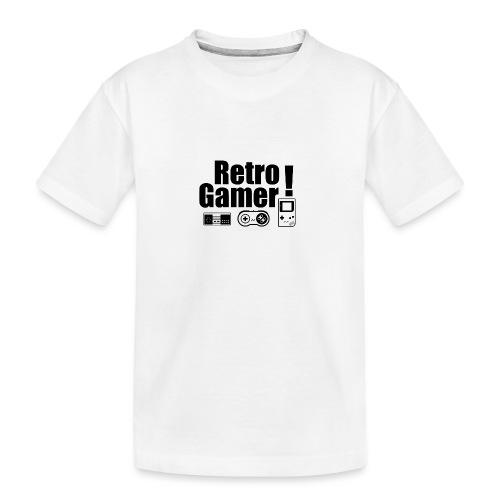 Retro Gamer! - Teenager Premium Organic T-Shirt