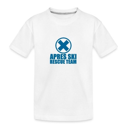 apres-ski rescue team - Teenager Premium Organic T-Shirt