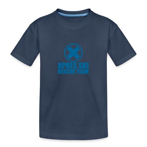 apres-ski rescue team - Teenager premium biologisch T-shirt