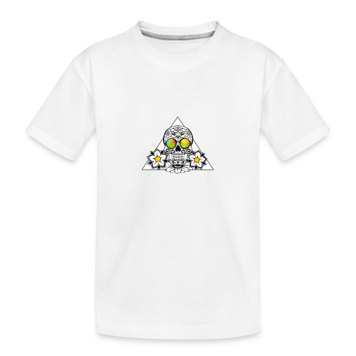 The day of the dead - Teinien premium luomu-t-paita