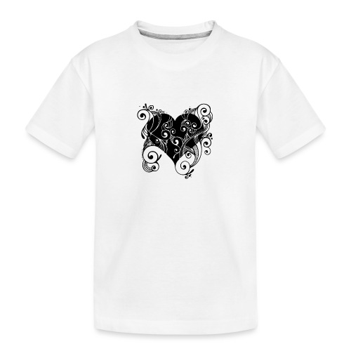Isle of Heart Petal - Teenager Premium Organic T-Shirt