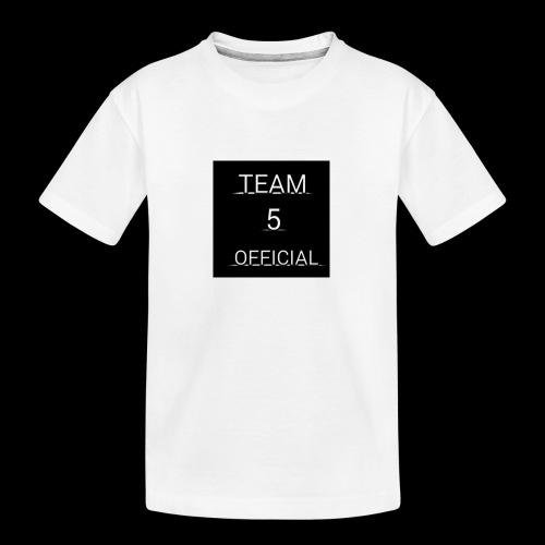 Team5 official 1st merchendise - Teenager Premium Organic T-Shirt