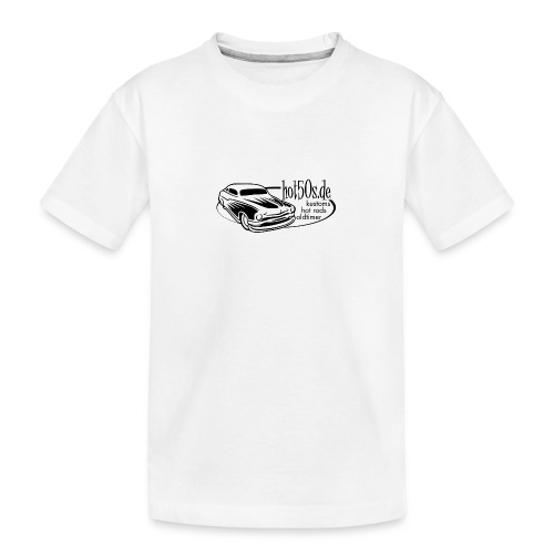 Hot50s Logo - Teenager Premium Bio T-Shirt