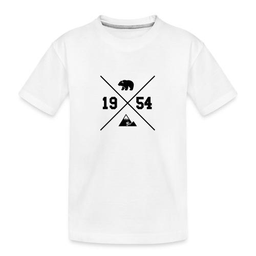 Karhuvuori -baseballhuppari - Teinien premium luomu-t-paita