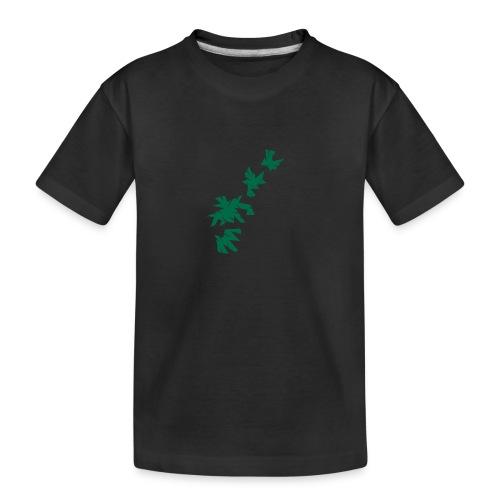 Green Leaves - Teenager Premium Bio T-Shirt