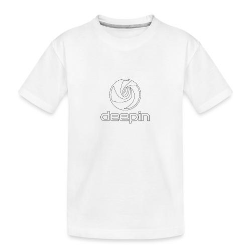deepinlogotrasparente - Maglietta ecologica premium per ragazzi