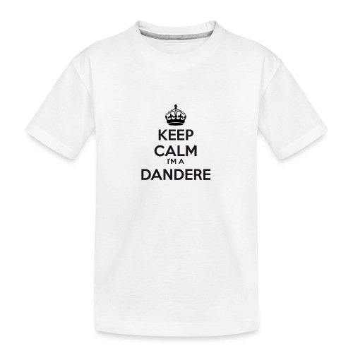 Dandere keep calm - Teenager Premium Organic T-Shirt