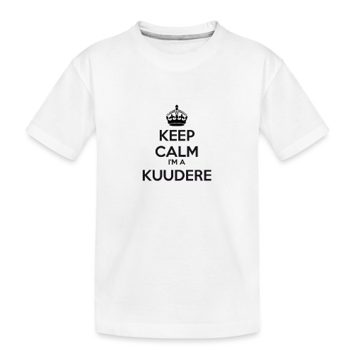 Kuudere keep calm - Teenager Premium Organic T-Shirt