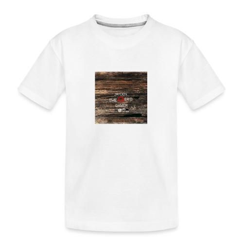Jays cap - Teenager Premium Organic T-Shirt