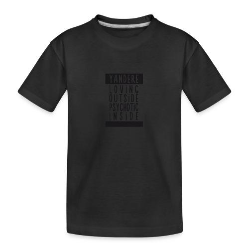 Yandere manga - Teenager Premium Organic T-Shirt