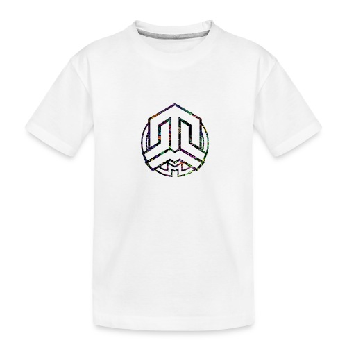 Cookie logo colors - Teenager Premium Organic T-Shirt