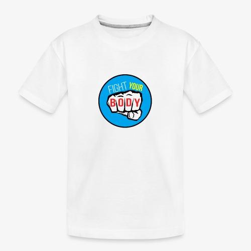 logo fyb bleu ciel - T-shirt bio Premium Ado
