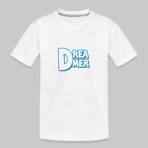Dreamers' name - Teenager Premium Organic T-Shirt