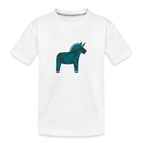 Swedish Unicorn - Teenager Premium Bio T-Shirt