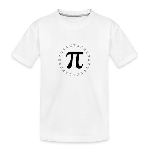 π - Pi - Pi - Pi - Pi - ... - Teenager Premium Bio T-Shirt