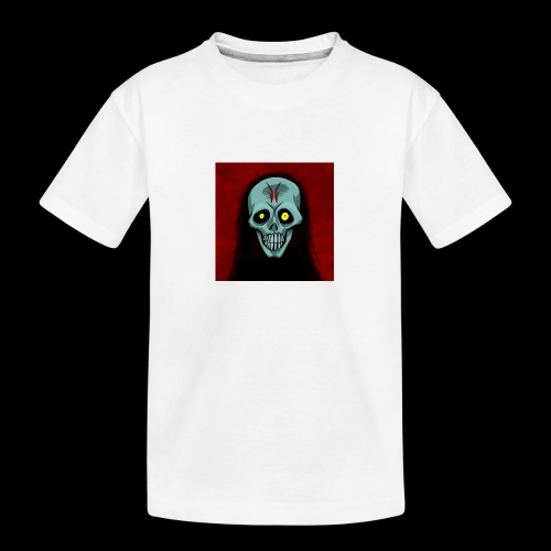 Ghost skull - Teenager Premium Organic T-Shirt