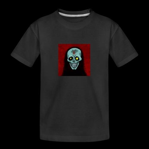 Ghost skull - Teenager Premium Organic T-Shirt
