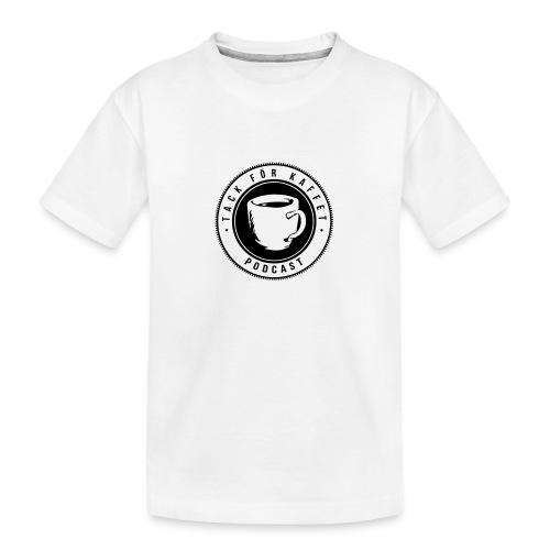 TFK logo - Ekologisk premium-T-shirt tonåring
