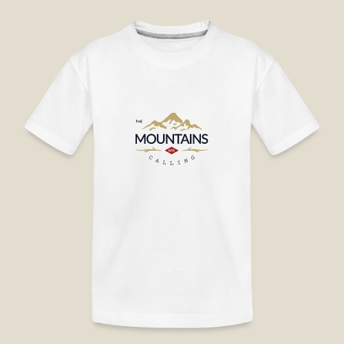 Outdoor mountain - T-shirt bio Premium Ado