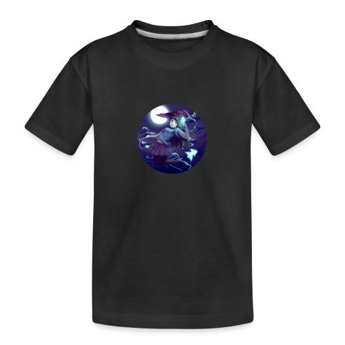 Witch in the Night - Maglietta ecologica premium per ragazzi