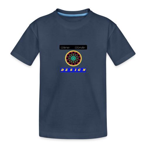 Wiener Wunder Design Logo #2 - Teenager Premium Bio T-Shirt