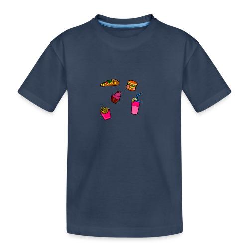 Fast Food Design - Teenager Premium Bio T-Shirt