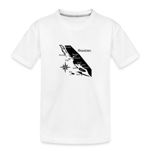 Kroatien Zadar bis Hvar - Teenager Premium Bio T-Shirt