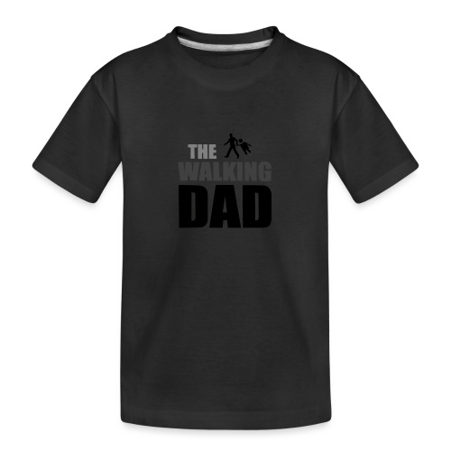 the walking dad auf dem Weg in die lustige Bar - Teenager Premium Bio T-Shirt