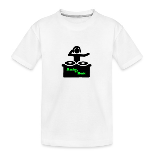 Master of Music - Teenager Premium Bio T-Shirt