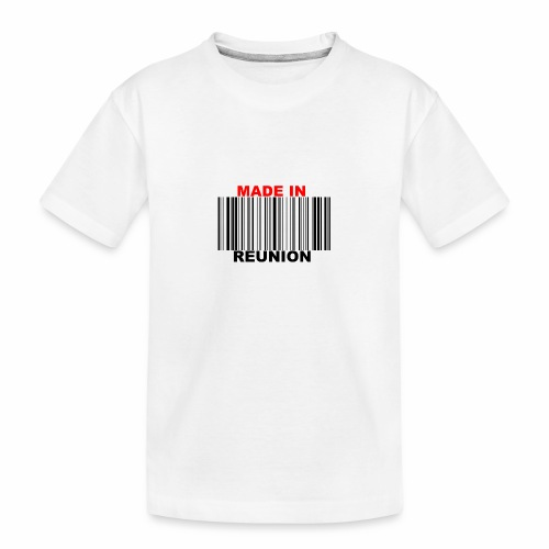 MADE IN REUNION - T-shirt bio Premium Ado