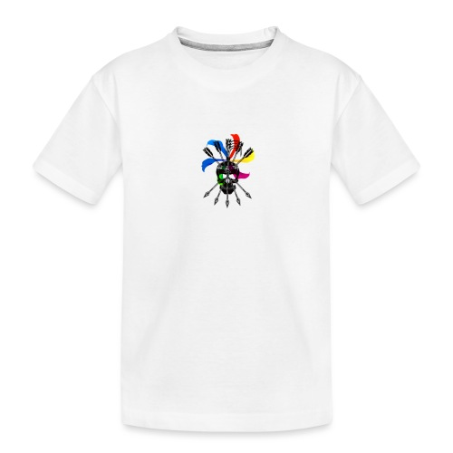 Blaky corporation - Camiseta orgánica premium adolescente