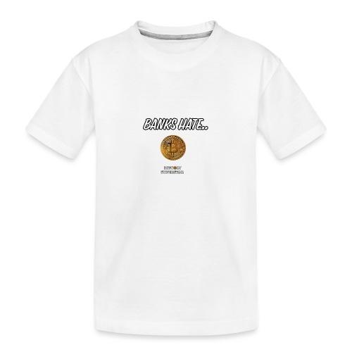 Baks hate - Maglietta ecologica premium per ragazzi