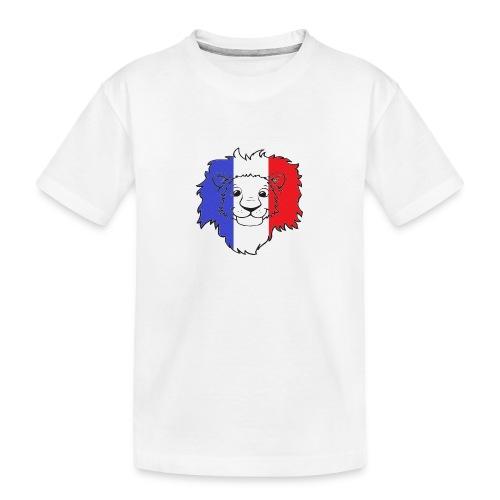 Lion France - T-shirt bio Premium Ado