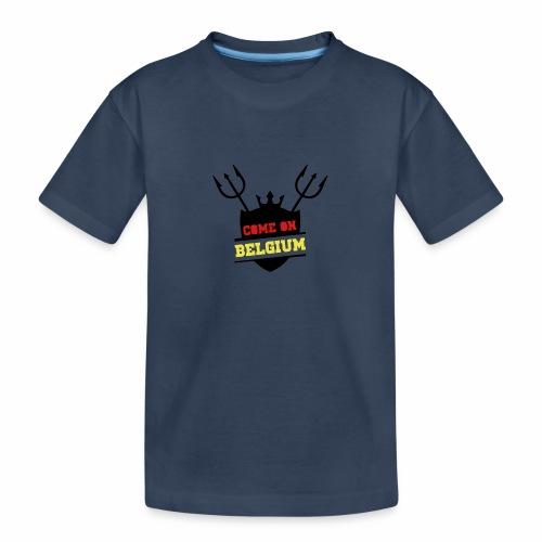 Come On Belgium - T-shirt bio Premium Ado