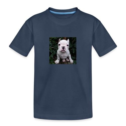 Billy Puppy 2 - Teenager premium biologisch T-shirt