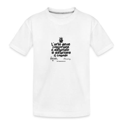 Aforisma Banksy - Maglietta ecologica premium per ragazzi