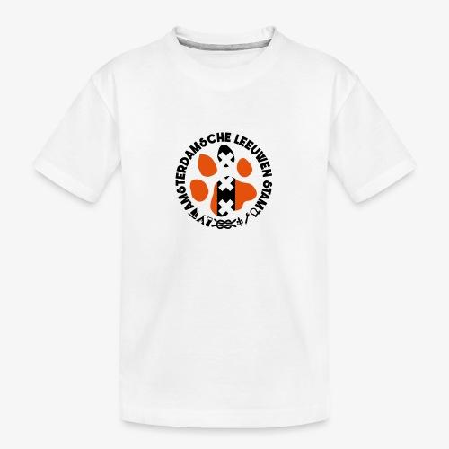 ALS witte rand licht - Teenager premium biologisch T-shirt