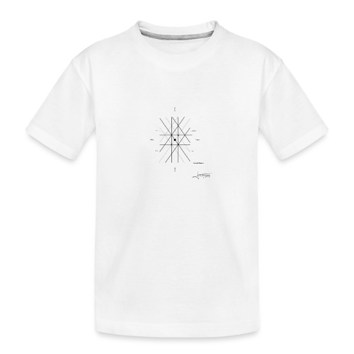 mathematique du centre_de_lunivers - T-shirt bio Premium Ado