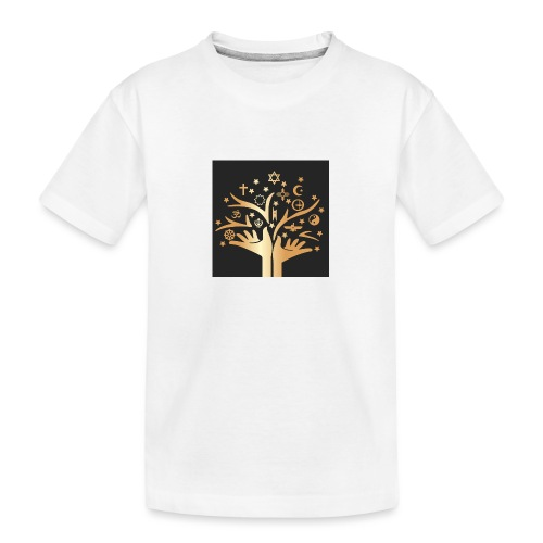 Religion for All - Teenager Premium Organic T-Shirt