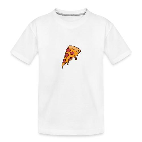 Pizza - Camiseta orgánica premium adolescente