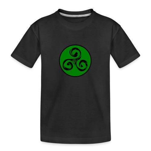 Triskel and Spiral - Camiseta orgánica premium adolescente