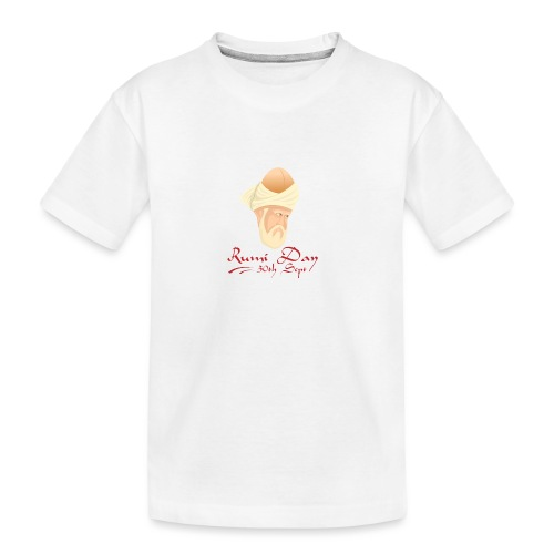 Rumi Day, 30th Sept - Teenager Premium Organic T-Shirt