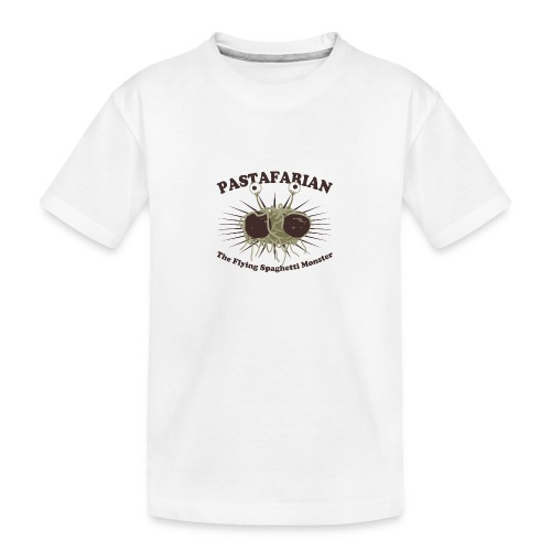 The Flying Spaghetti Monster - Teenager Premium Organic T-Shirt
