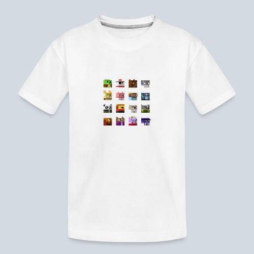A Planet of Mine Animals - T-shirt bio Premium Ado