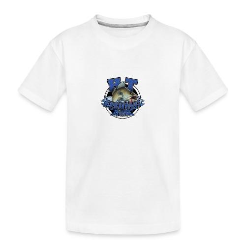 HT Fishing Team - Teinien premium luomu-t-paita