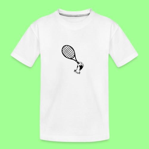 TENNIS UNDERGROUND - Ekologiczna koszulka młodzieżowa Premium
