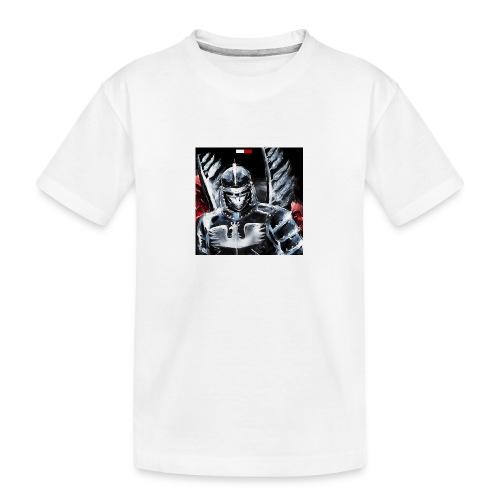 koszulka patriotyczna husaria - Ekologiczna koszulka młodzieżowa Premium