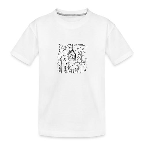 Vogelhuisje - T-shirt bio Premium Ado