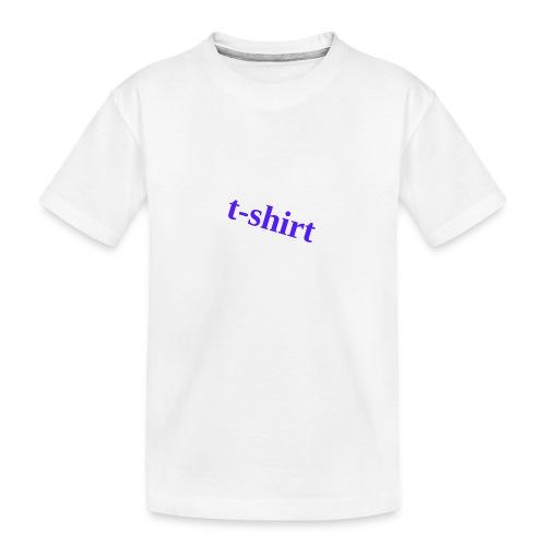 Hemd - Teenager Premium Bio T-Shirt